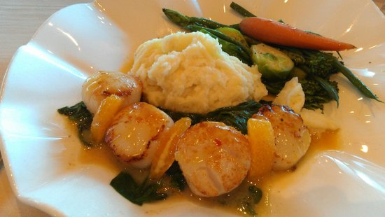 Table 34 : Scallop Entree