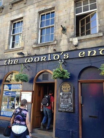The World's End: Front Entrance to World's End