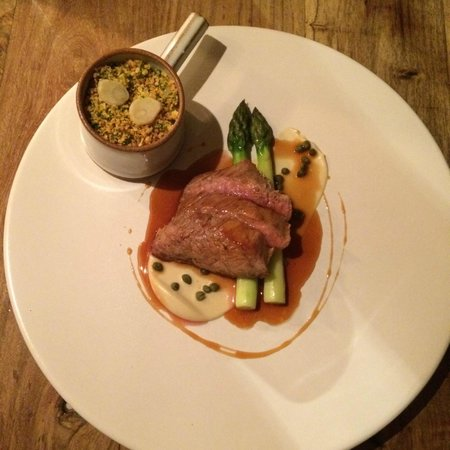 The Hand & Flowers : Fillet of Veal