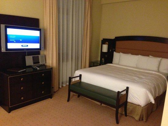 Hilton Moscow Leningradskaya: Отличная кровать