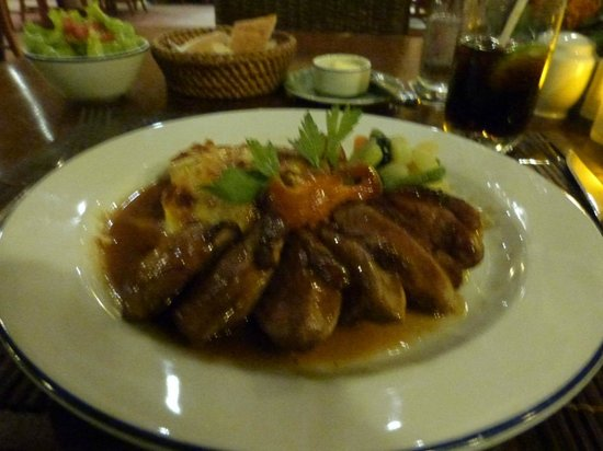 L'Elephant Restaurant : The Famous Duck
