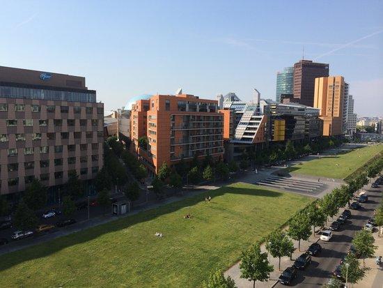 Scandic Berlin Potsdamer Platz: View from room 7005