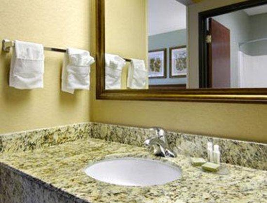 Baymont Inn & Suites Cherokee Smoky Mountains : Bathroom