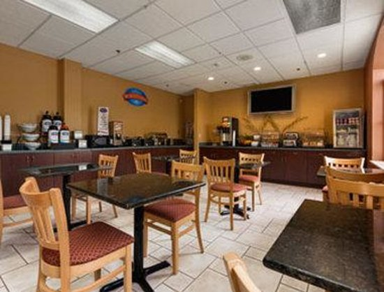 Baymont Inn & Suites Asheville/biltmore : Breakfast Area