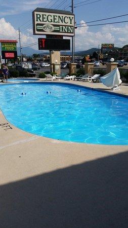 Regency Inn: The pool