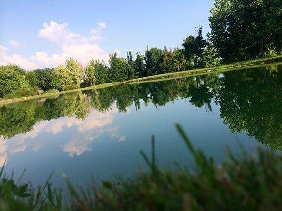 Parc Hotel Germano Suites & Apartments : Germano fishing lake