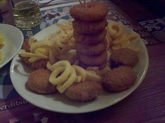 Wiener Haus: Antipasto fritto