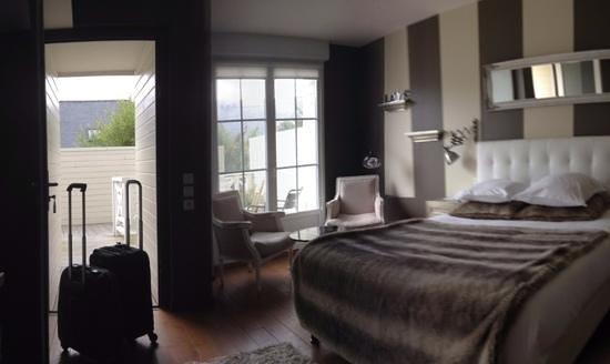 Hotel-Spa La Baie des Anges : bedroom Hotel Spa La Baie des Anges