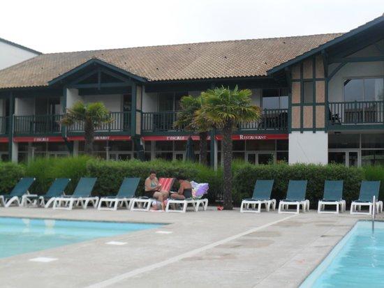 Pierre & Vacances Village Club Moliets : pres du restaurant