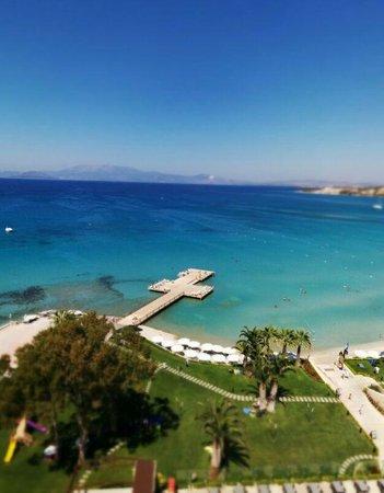 Boyalik Beach Hotel & Spa Cesme: Deniz manzaralı odaları başarılı