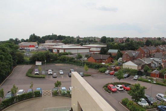 Casa Hotel : View over car park