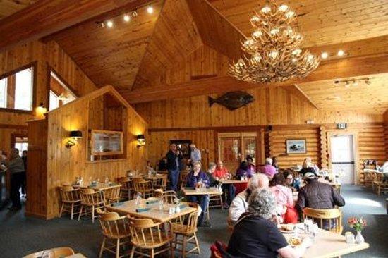 Kenai Princess Wilderness Lodge : Restaurant
