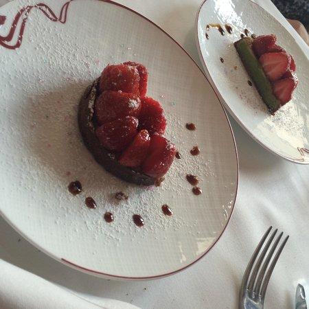 Le Bistrot de l'Alycastre: Tarte aux fraises