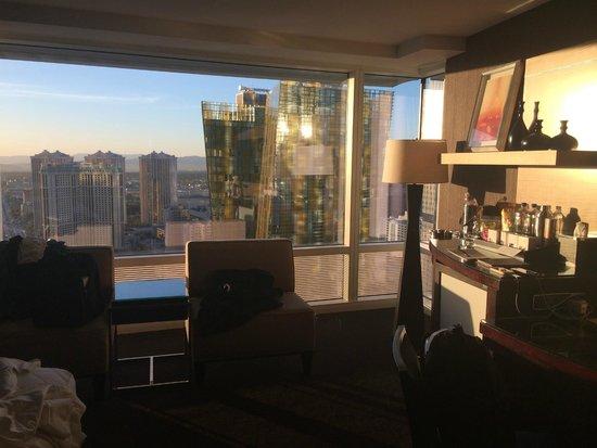 ARIA Resort & Casino: Vista da Suíte