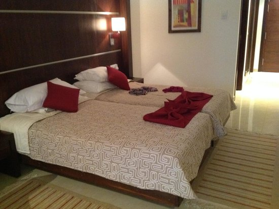 Chich Khan: upgraded room