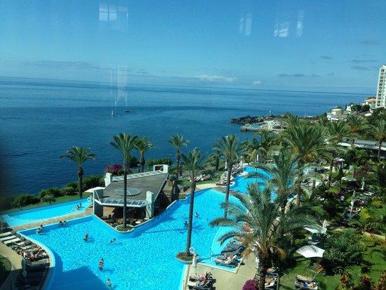 Pestana Promenade Ocean Resort Hotel: Vue de l'accueil