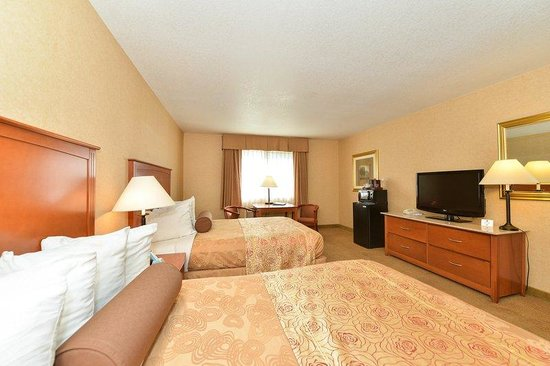 BEST WESTERN PLUS Placerville Inn: Double Queen Room
