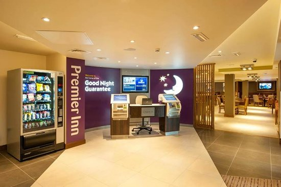 Premier Inn London Hendon (The Hyde) Hotel: Reception