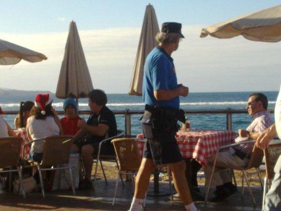 Cristina Las Palmas Hotel: Пляж Лас Кантерас