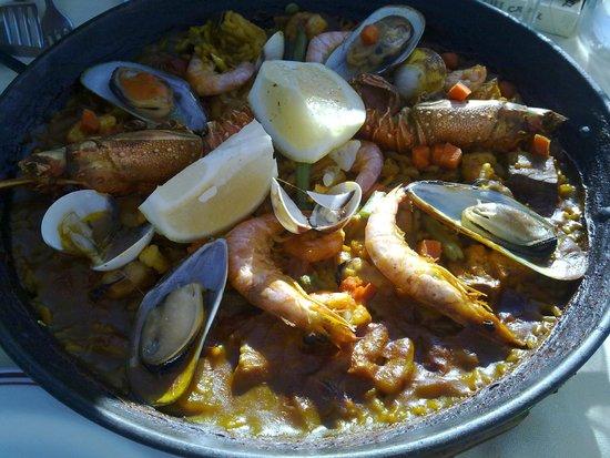 Cristina Las Palmas Hotel: Ужин