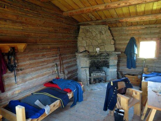 Fort Caspar Museum and Historic Site: Officer's Room