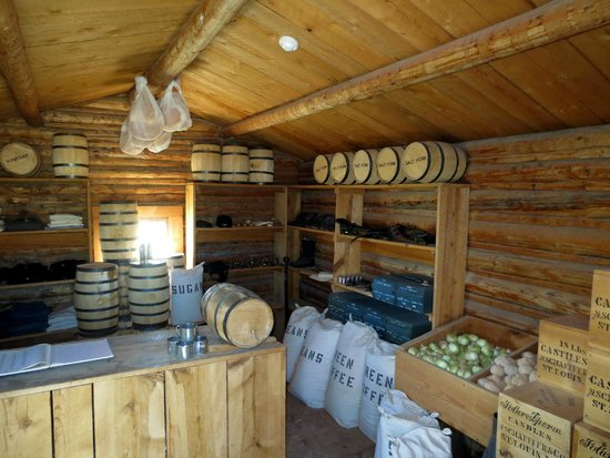 Fort Caspar Museum and Historic Site: Supply Room