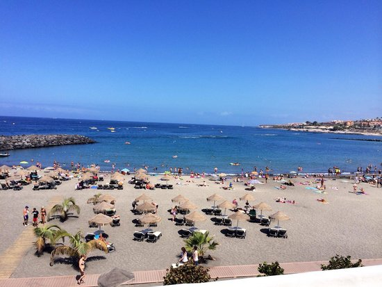 Hotel Chatur Playa Real : Adeje beach