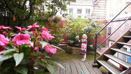 Hotel Sander: Мини сад