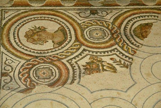 Musée de site Villa-Loupian : Pictorial mosaic
