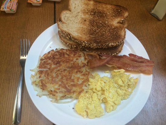 Yosemite Bug Rustic Mountain Resort : Amazing breakfast