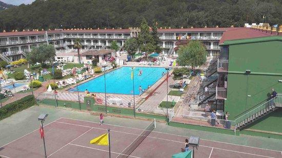 MedPlaya Hotel San Eloy: vue de la chambre