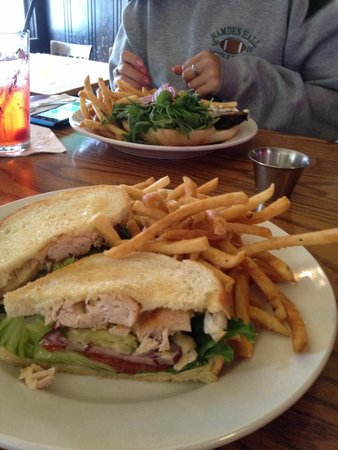 Olema Farm House: Our lunch