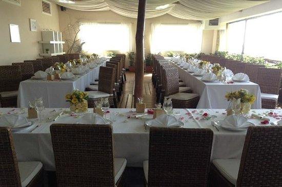 Don Pedro: Wedding table