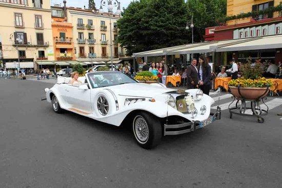 Don Pedro Sorrento: Wedding Car