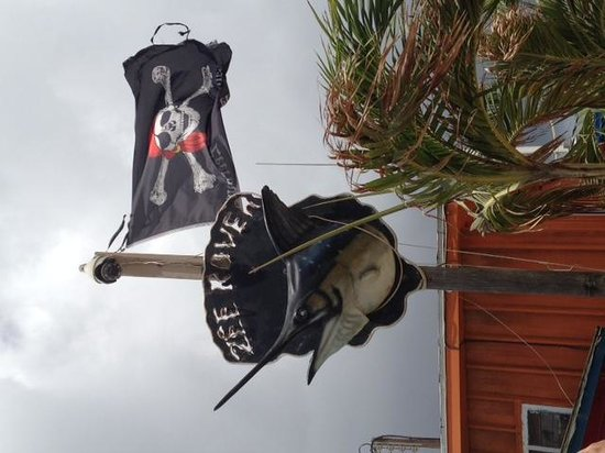 Zeerovers : Look for the pirate flag so you don't pass it