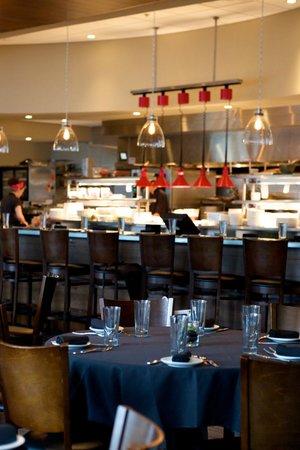 Etch Restaurant : Restaurant view of chef's bar with open kitchen