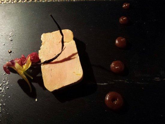 Restaurant Petit Ours: Foie gras de canard au rhum et à la vanille...