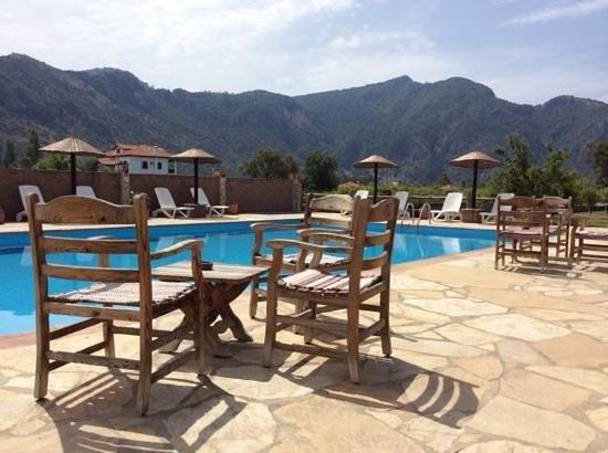 Sedir Resort : poolside views