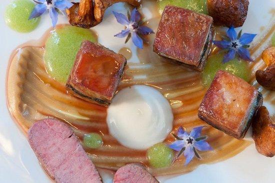 The Vine Goudhurst: Lamb main dish