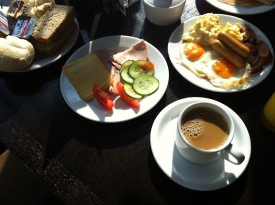 Breakfast at Europeum Hotel