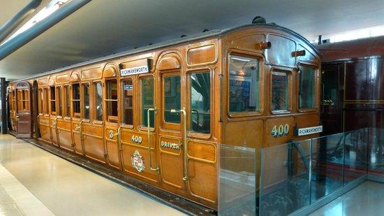 London Transport Museum : Old metro