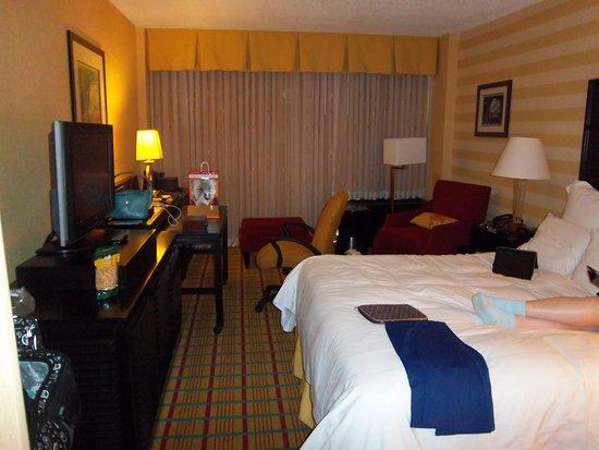 Renaissance Asheville Hotel: Room view