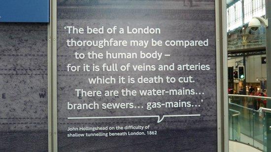 London Transport Museum : Quote