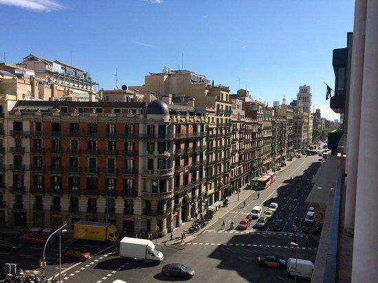 Hotel Jazz : Vista desde nuestra habitación del piso 7