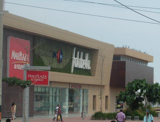 Mall Plaza El Castillo : Fachada