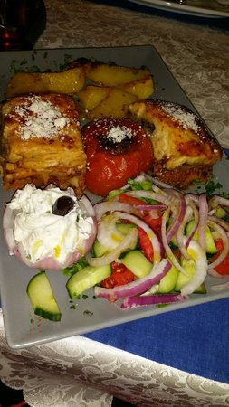 Heaven's Kitchen: Greek plate
