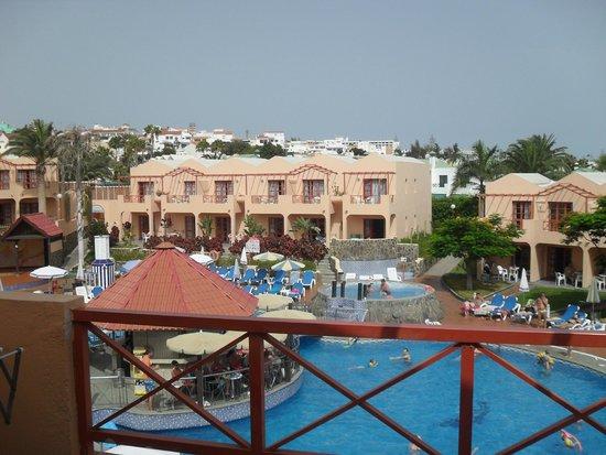Turbo Club: view from balcony