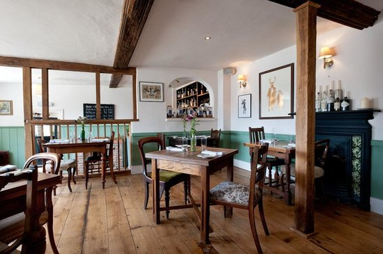 The Vine Goudhurst: Downstairs restaurant