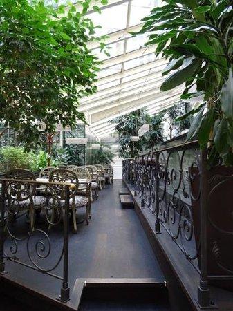 Savic Hotel : Breakfast dining area
