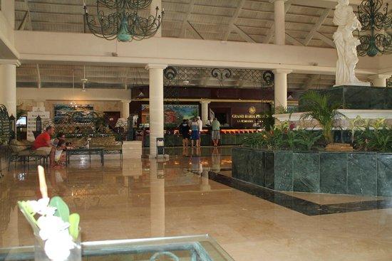 Grand Bahia Principe La Romana : Hotel Lobby